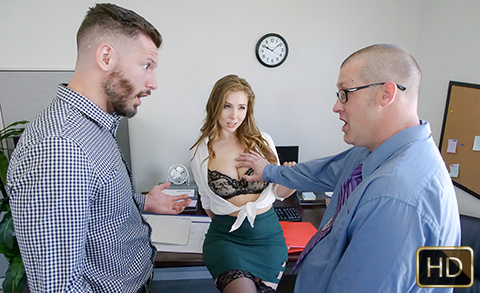 TittyAttack – The Porn Office – Lena Paul