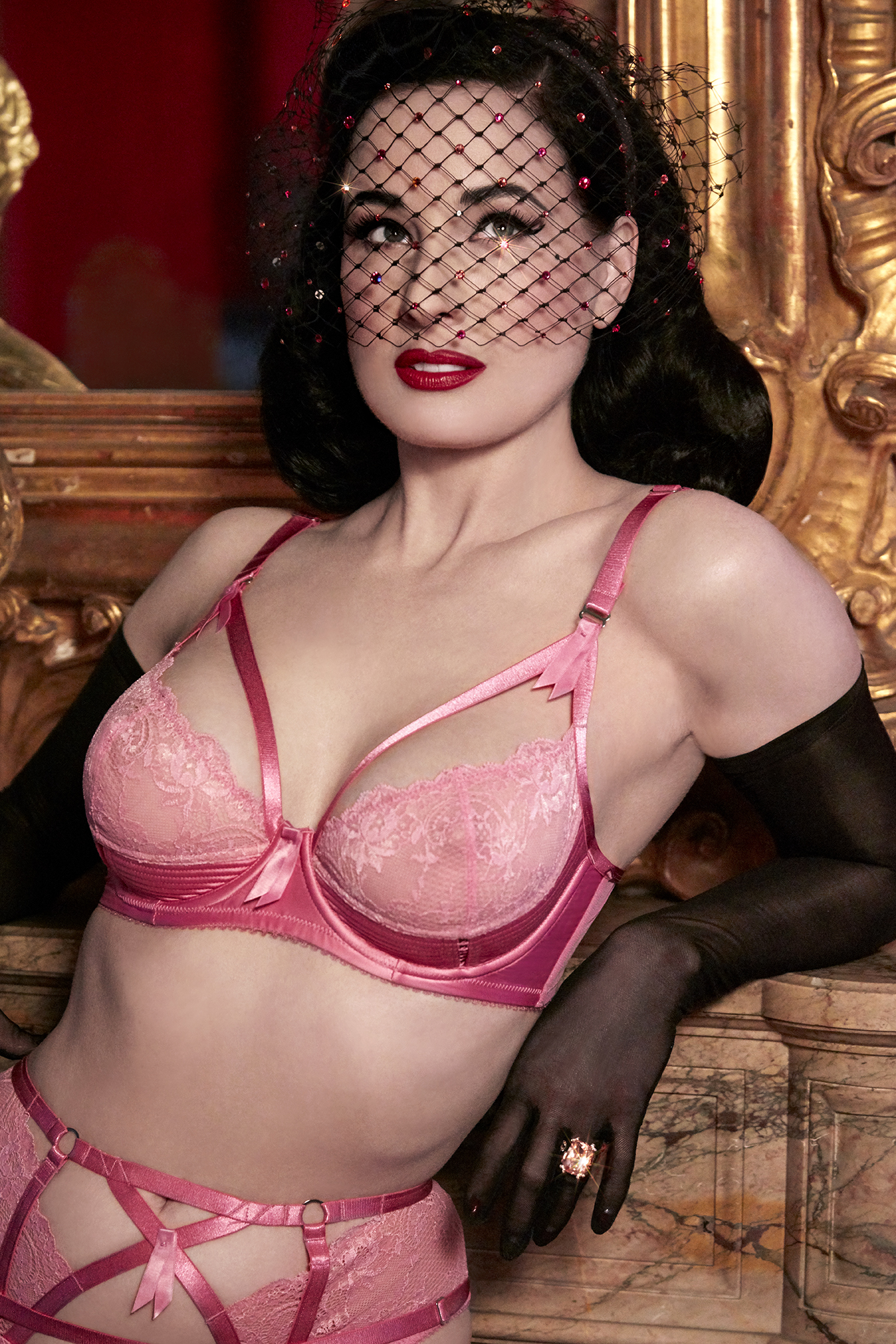 Dita Von Teese – Albert Sanchez Photoshoot 2018